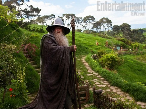 Ian McKellen The Hobbit An Unexpected Journey Entertainment Weekly
