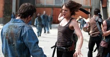 Lauren Cohan The Walking Dead Prison