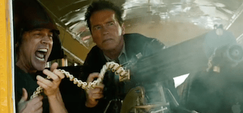 Arnold Schwarzenegger Johnny Knoxville The Last Stand