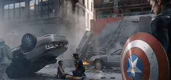 Chris Evans The Avengers Deleted Scene Alternate Opening
