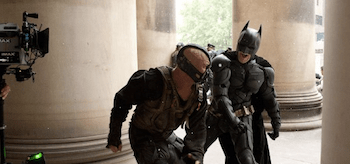 Tom Hardy Christian Bale The Dark Knight Rises
