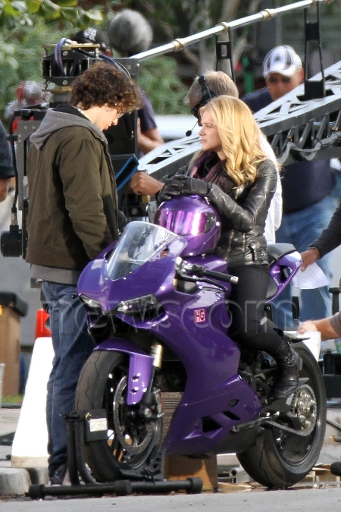 Aaron Johnson Chloe Mortez Kick-Ass 2