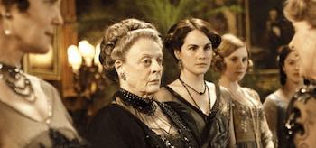 Elizabeth McGovern Maggie Smith Michelle Dockery Laura Carmichael Jessica Brown Findlay Penelope Wilton Downton Abbey