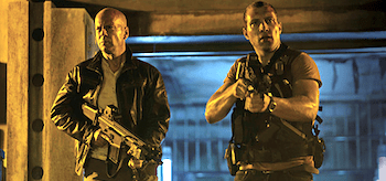 Bruce Willis Jai Courtney A Good Day to Die Hard