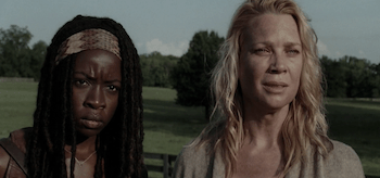 Laurie Holden Danai Gurira The Walking Dead Walk With Me