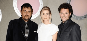 Richard Coyle Agyness Deyn Mem Ferda Pusher UK Premiere