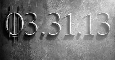 Game of Thrones Season 3 Teaser TV Show Poster