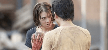Lauren Cohan Steven Yeun The Walking Dead Killer Within