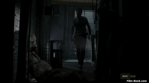 Laurie in Walkers Belly The Walking Dead Say The Word