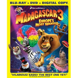 Madagascar 3 Europe's Most Wanted Bluray