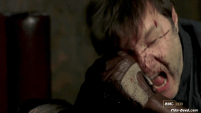 David Morrissey Stabbed The Walking Dead Made to Suffer