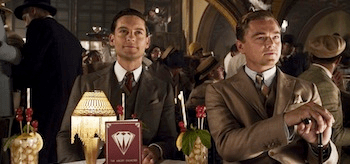 Tobey Maguire Leonardo DiCaprio The Great Gatsby