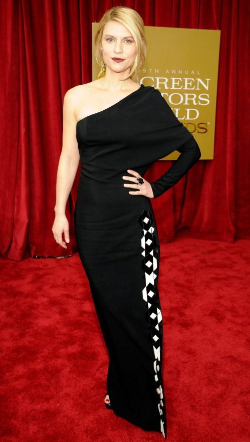 Claire Danes Screen Actors Guild Awards 2013