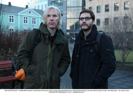 Daniel Bruhl Benedict Cumberbatch The Fifth Estate