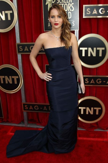 Jennifer Lawrence Screen Actors Guild Awards 2013