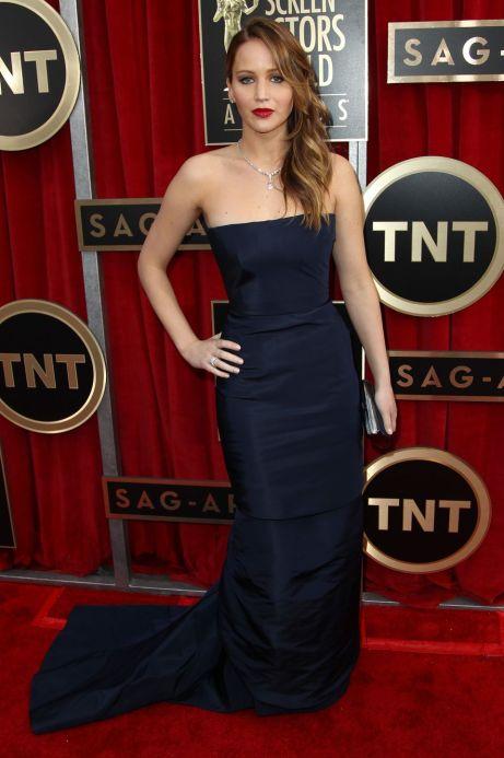 Jennifer Lawrence Screen Actors Guild Awards 2013