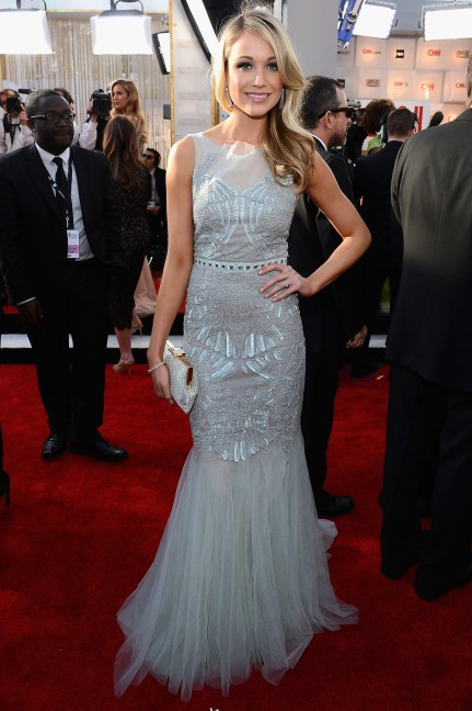 Katrina Bowden Screen Actors Guild Awards 2013
