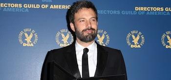 Ben Affleck Directors Guild of America Awards 2013