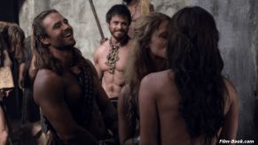 Dustin Clare Ellen Hollman Luna Rioumina Spartacus War of the Damned Decimation