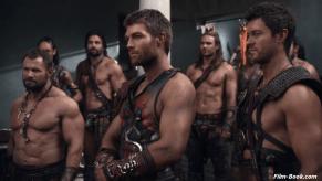 Dustin Clare Liam McIntyre Manu Bennett Dan Feuerriegel Spartacus War of the Damned Men of Honor