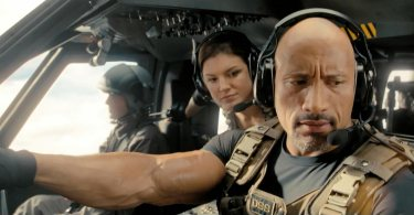 Gina Carano Dwayne Johnson Fast and Furious 6
