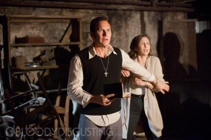 Patrick Wilson Vera Farmiga The Conjuring