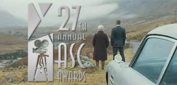 Skyfall American Society of Cinematographers Awards