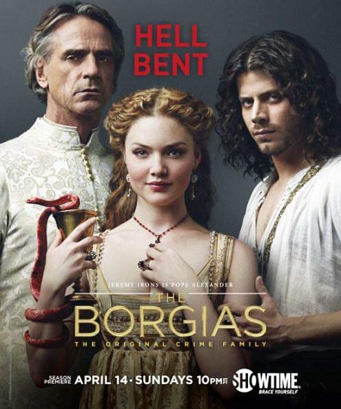 The Borgias Season 3 TV Show Poster