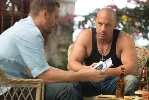 Vin Diesel Paul Walker Fast and Furious 6