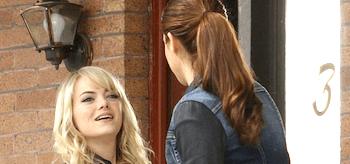 Shailene Woodley Emma Stone The Amazing Spider-Man 2