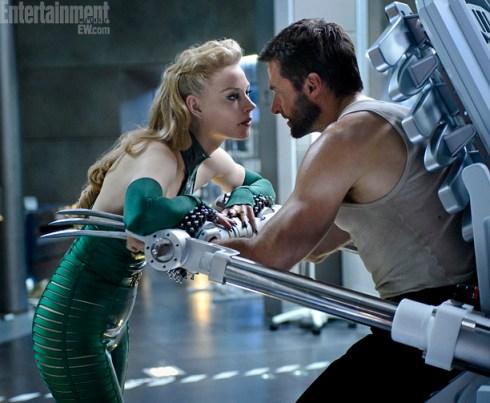Hugh Jackman Svetlana Khodchenkova The Wolverine