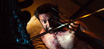 Hugh Jackman The Wolverine Sword Fighting