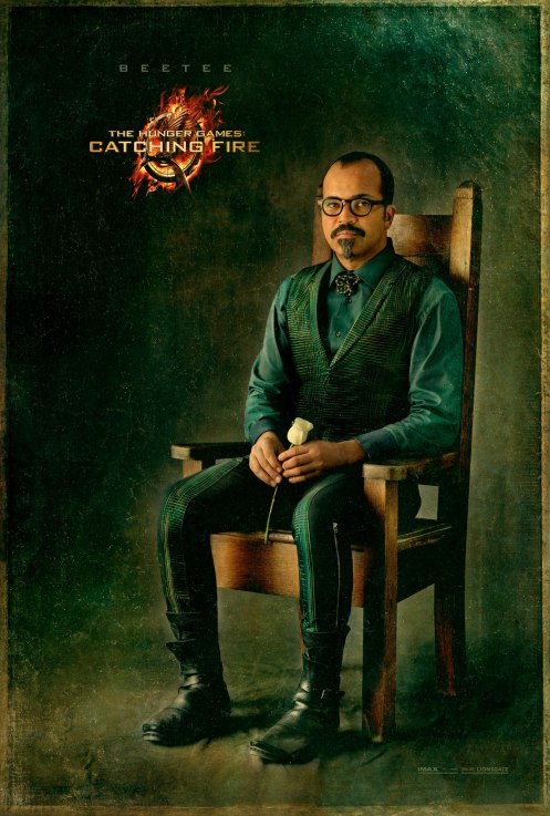 The Hunger Games Catching Fire Beetee Capitol Portrait movie poster