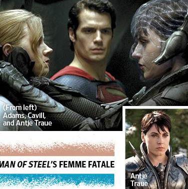 Henry Cavill Amy Adams Antje Traue Man of Steel