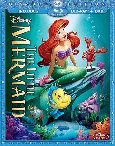 The Little Mermaid Diamond Edition Bluray