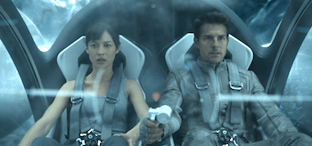 Tom Cruise Olga Kurylenko Oblivion