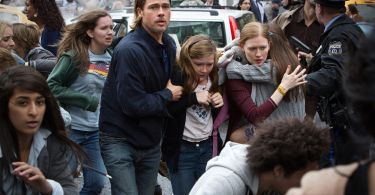 Brad Pitt Mireille Enos World War Z
