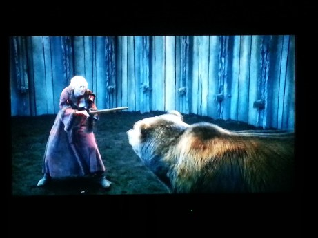 Gwendoline Christie Bear Pit Game of Thrones The Bear and the Maiden Fair