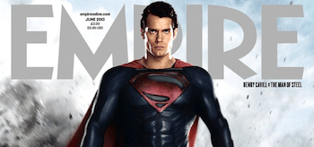 Henry Cavill Man of Steel Empire Magazine Cover June 2013