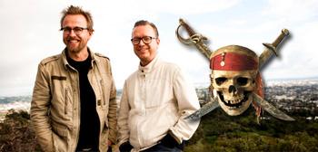 Joachim Rønning Espen Sandberg directing Pirates of the Caribbean