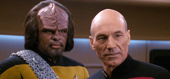 Patrick Stewart Michael Dorn List of Star Trek The Next Generation