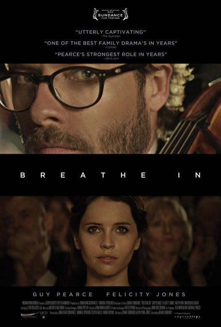 Breathe In movie poster
