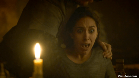 Oona Chaplin stabbed Game of Thrones The Rains of Castamere