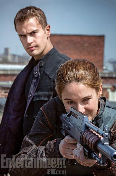 Shailene Woodley Theo James Divergent