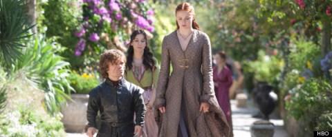 Sibel Kekilli Peter Dinklage Sophie Turner Game of Thrones Mhysa