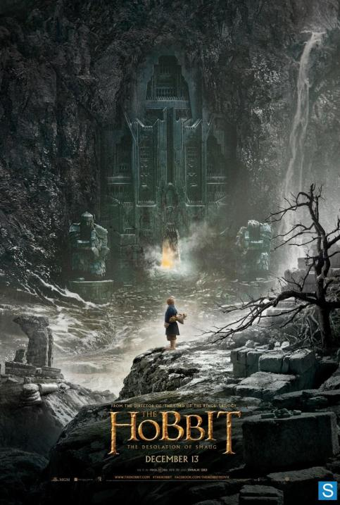 The Hobbit The Desolation of Smaug movie poster