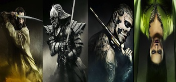 47 Ronin Character Movie Posters