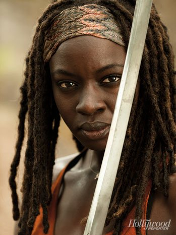 Danai Gurira The Walking Dead Season 4