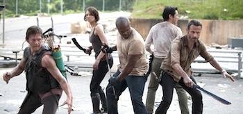 Andrew Lincoln Lauren Cohan Steven Yeun Norman Reedus IronE Singleton The Walking Dead