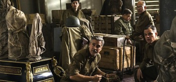 George Clooney Matt Damon The Monuments Men